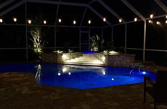 Pool Lights Installation Services